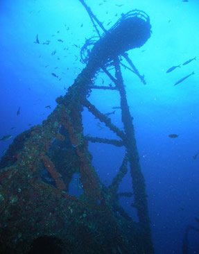 Duane Wreck Diving Florida Keys